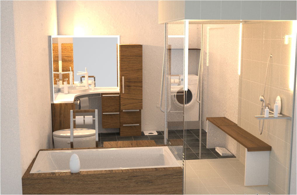 for Smart bathroom designs